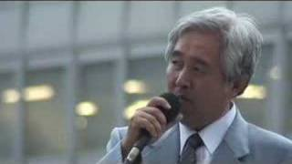2007-06-28 東京・新宿駅西口にて瀬戸弘幸さんの街頭演説 4/6.