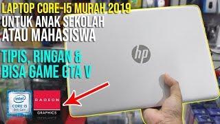 HP 14s CF0044TX, LAPTOP CORE I5 MURAH UNTUK ANAK SMK ATAU MAHASISWA !!