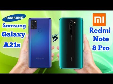 Samsung Galaxy A21s vs Redmi Note 8 Pro - OFFICIAL SPECIFICATIONS Comparison