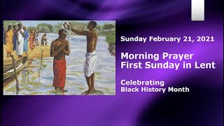 FIRST SUNDAY IN LENT - LIVESTREAM