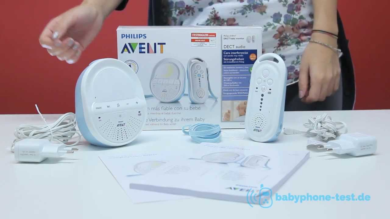philips avent scd 505 babyphone im praxistest philips. Black Bedroom Furniture Sets. Home Design Ideas