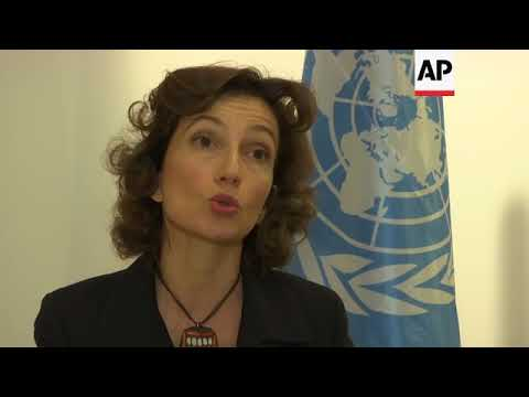 New UNESCO chief on US, Israel and press freedom