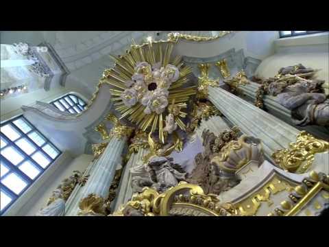 Frauenkirche Dresden Neujahrsgottesdienst 2017 mit Orgel und Trompete