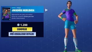WORLD CUP SKINS AT FORTNITE ‹ MayconLorenz ›