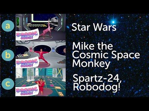 Cosmic Kids Yoga - Space Triple (3 adventures, 51 mins!)