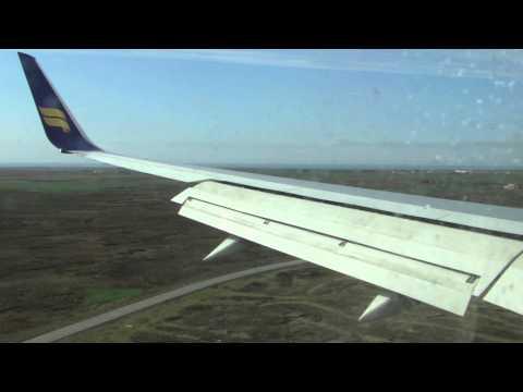 My icelandair flight: Helsinki-Reykjavik-Helsinki