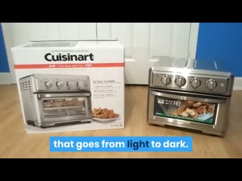 Cuisinart TOA 60 Review – Air Fryer Toaster Oven