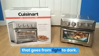 Cuisinart TOA 60 Review - Air Fryer Toaster Oven