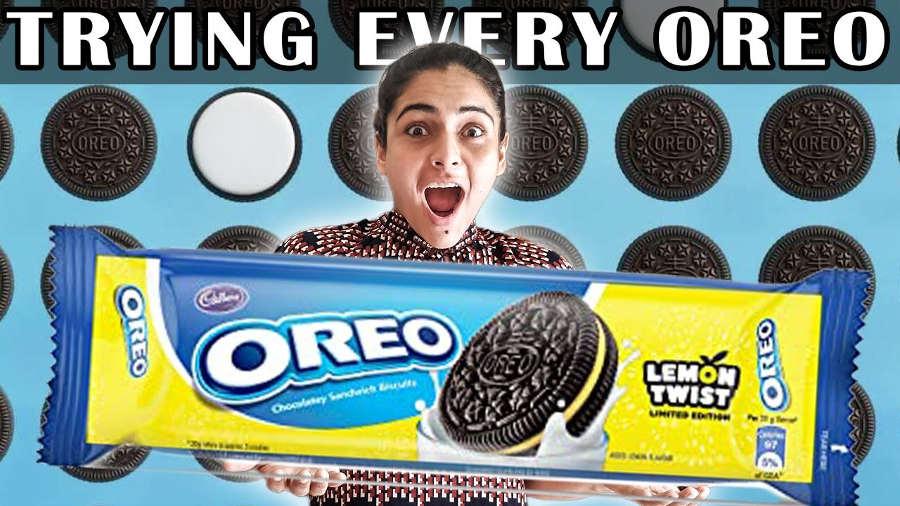 Trying EVERY Type Of OREO    This Was NOT EXPECTED....... 😱