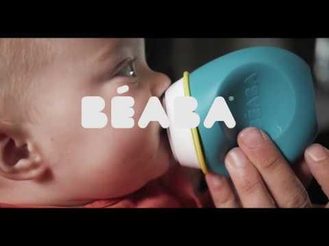 BEABA - Babysqueez' & Squeez'Portion, le repas à emporter partout !