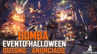 Monster Hunter World - BOMBA, FESTIVAL HALLOWEN/OUTONO ANUNCIADO - USJ 2 PARA TODOS!
