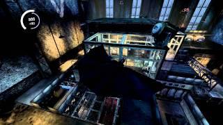 Batman Arkham Asylum Gameplay on P150HM Laptop Max Settings