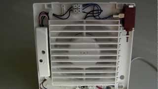 Вытяжной вентилятор ВЕНТС серии МА с таймером(Вытяжной вентилятор вентс серии МА оборудован постоянно закрытыми жалюзи, которые открываются при поступл..., 2012-07-01T15:26:56.000Z)