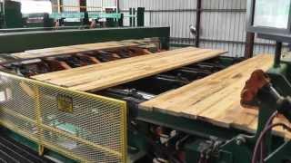 Planermill Lumber Stacker Operator View