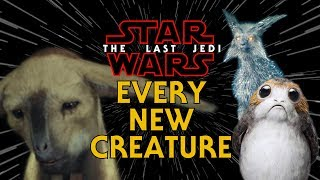 Every New Creature from The Last Jedi