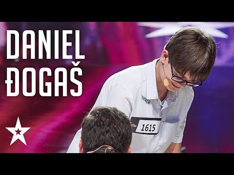 13 year old magician, Daniel Đogaš, leaves us speechless│Supertalent 2018│Auditions