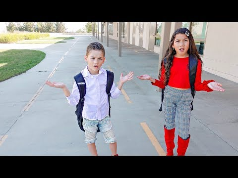FIRST DAY OF SCHOOL **Prank** | Familia Diamond