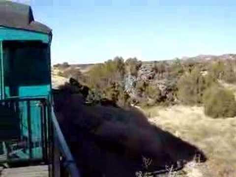 santa fe to lamy train journey