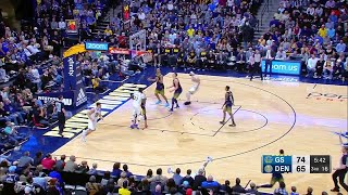 3rd Quarter, One Box Video: Denver Nuggets vs. Golden State Warriors