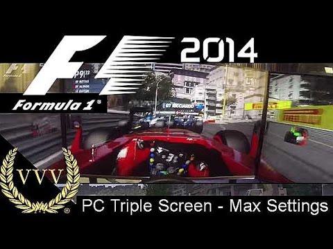F1 2014 Gameplay - Monaco - Alonso