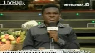 "SCOAN 30/11/14: Sunday Live Service Resume ""French Translation"". Emmanuel TV"