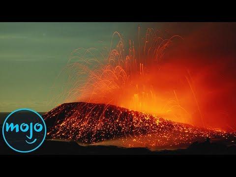 Top 10 Dangerous Volcanoes