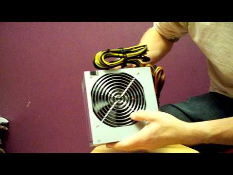Antec Earthwatts 650W 80+ Power Supply Unboxing Linus Tech Tips