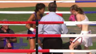 "Patty ""Boom Boom""  Alcivar vs Savanna ""The Lioness"" Hill 4/2/11"