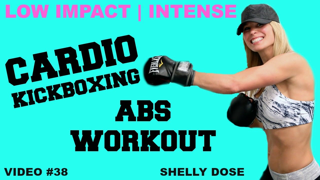 low impact cardio kickboxing abs workouts youtube. Black Bedroom Furniture Sets. Home Design Ideas