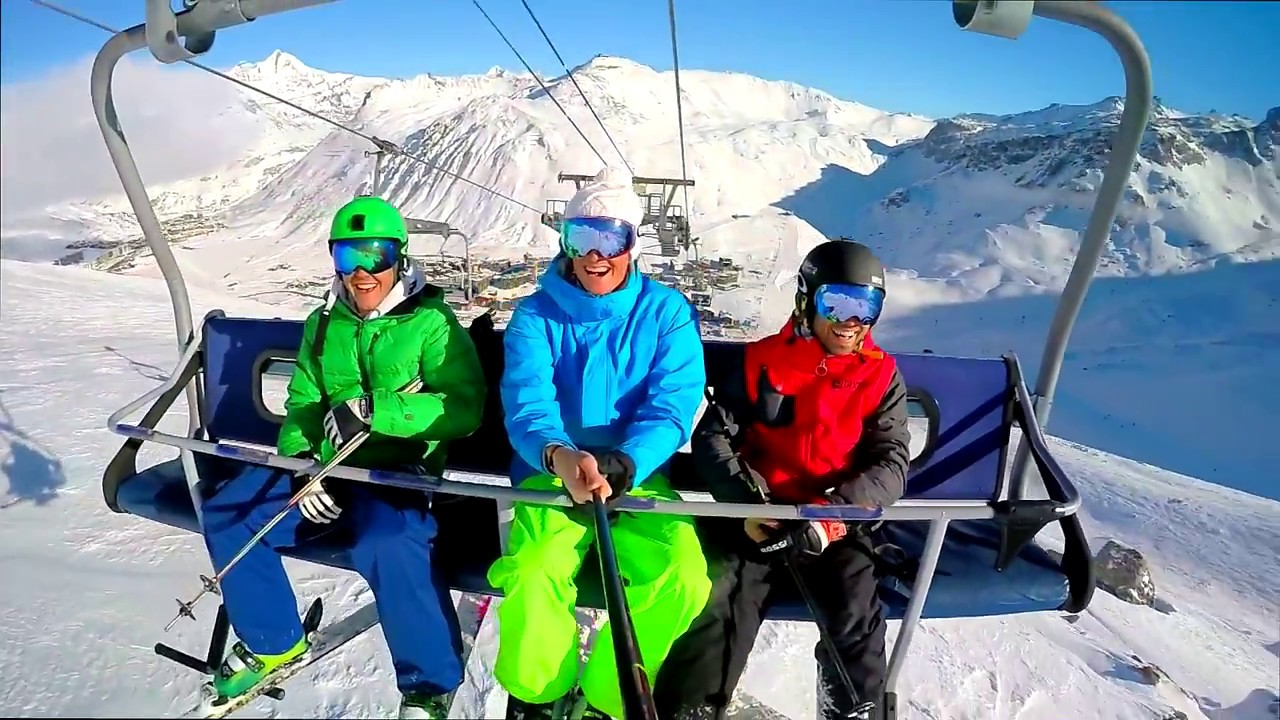 Image result for skiing friends