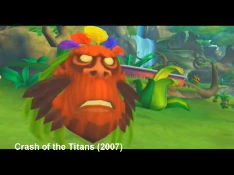 The times Aku Aku is voiced by Greg Eagles