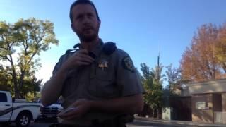 Deputy Pulled Gun on me again in Hyrum, Utah Copblock; Copwatch