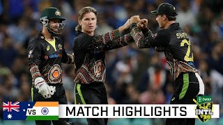 Aussies dig deep to avoid series sweep in action-packed T20 | Dettol T20I Series 2020