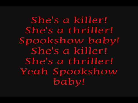 rob zombie - spookshow baby (lyrics)