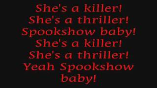 rob zombie - spookshow baby (lyrics)
