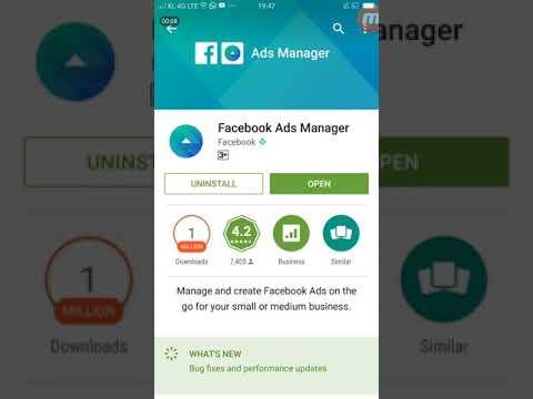 Cara Iklan Facebook (FBAds) Lewat HP (Android)