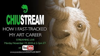 ChiuStream: How I Fast-Tracked My Art Career