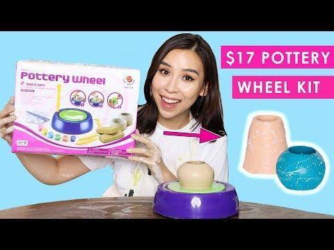 Testing A Cheap Pottery Wheel Kit