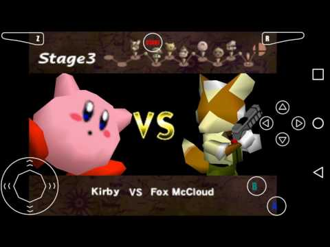 Super Smash Brothers 64-Kirby