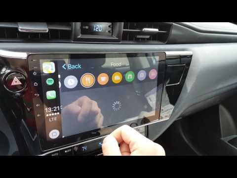Aftermarket Stereos With Carplay For 2017+ Sedans   Toyota