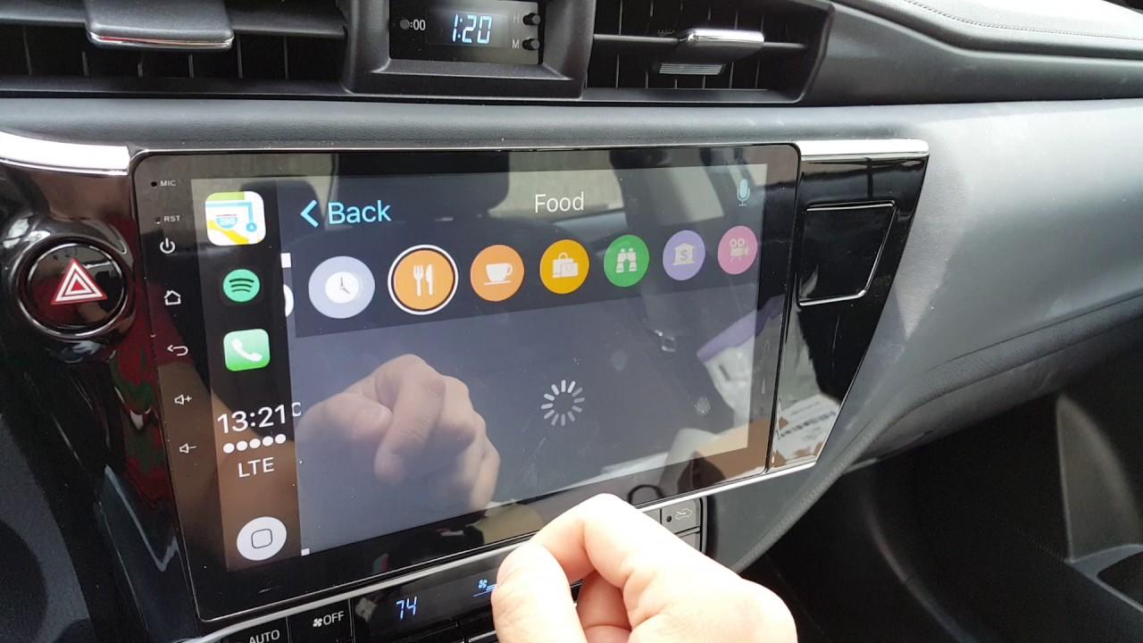 Runner Wiring Diagram 2017 Toyota Big Screen Stereo Conversion Bss Apple