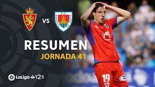 Resumen de Real Zaragoza vs CD Numancia (0-0)