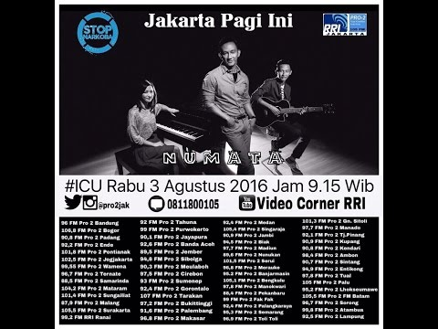 NUMATA - ICU pro2 RRI Jakarta ( Live Video Corner RRI )