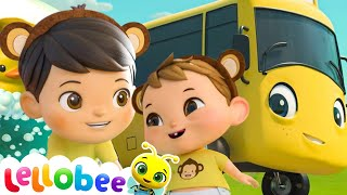 Wheels on the Bus - Popular Baby Songs | Brand New Nursery Rhymes | ABC & 123 | Little Baby Bum
