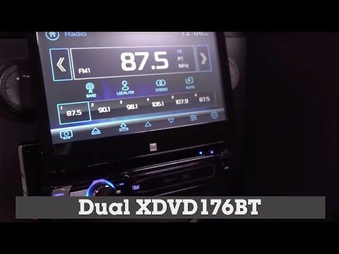 Dual XDVD176BT Display And Controls Demo | Crutchfield Video
