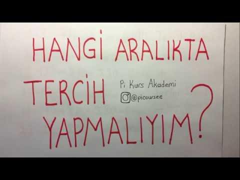 HANGİ ARALIKTA TERCİH YAPMALIYIM (DİKKAT ET!!!)