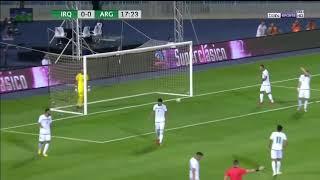 Argentina vs Iraq 1-0 Goal Lautaro Martínez 11/10/2018