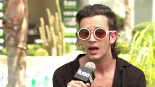 MATTY HEALY TALKING ABOUT HIS PILLOW AND MUCH MORE!
