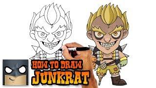 How to Draw Junkrat   Overwatch