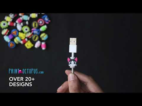 How To Protect Your Charging Wires - Cable Protector | PrintOctopus